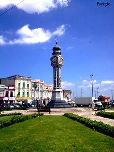 Praça do Relógio - Relógio original da Inglaterra, Belém do Pará - Brasil