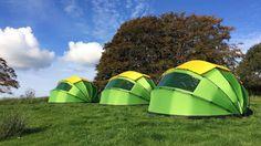 Mollusc Nano 2 - Available on Indiegogo now Hammock Tarp, Camping Glamping, Camping Supplies, Camping Equipment, Trekking, Outdoor Gear, Environment, Sport, Yurts