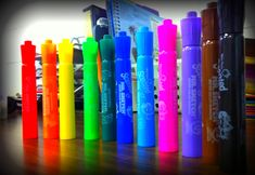 Markers in Boomwhacker colors (use for making own flashcards for composition activities)