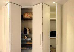 cozy interior design ideas with bifold closet doors decor and door molding for bedroom design ideas Modern Closet Doors, Folding Closet Doors, Modern Door, Closet Door Alternative, Ideas Armario, Door Alternatives, Accordion Doors, Door Molding, Moldings