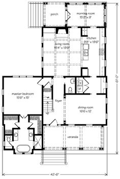 The Gaston Street House - R.N. Black Associates, Inc. | Southern Living House Plans