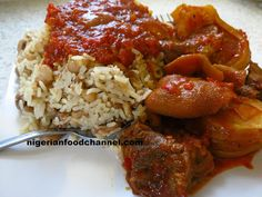How to cook Nigerian Rice and Beans