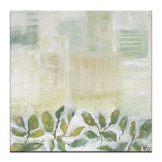 Artist Lane Growth 1 by Karen Hopkins Framed Painting Print on Wrapped Canvas Size: