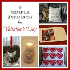 5 Simple Valentine's Day projects--ImpartingGrace.com