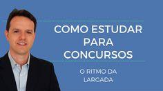 Como iniciar seu estudo para Concursos Públicos? O ritmo da largada!  http://w500.blogspot.com.br/