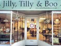 Jilly, Tilly and Boo is in the old market town of Wellington, Somerset.  Jilly sells lots of painted furniture as well as a great selection of country and rustic country pieces