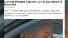 Transferul lui Adrian Nastase la Penitenciarul Rahova, tratat pe larg in presa internationala