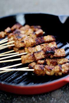 Tasty Vegetarian, Vegetarian Barbecue, Indonesian Food, Vegan Dinners, Plant Based Recipes, Vegan Recipes, Vegan Food, Love Food, Food Porn