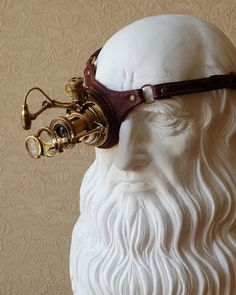 steampunktendencies: Steampunk Monogoggle by Yura [Via steampunker.ru]