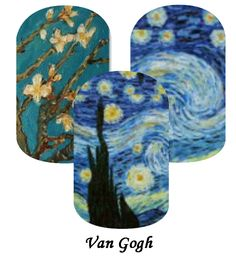 My Jamberry Wraps NAS van gogh #jamberry #gabbysjams Contact me if you are interested in purchasing them: https://www.facebook.com/groups/gabbysjamsnasdesigns/ or gabbysjams@gmail.com or https://www.facebook.com/gabbysjams/