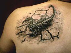 55 besten Skorpion Tattoos Designs und Ideen mit Sinn,                                                     Skorpion-Tattoos : Zodiac-Tattoos sind extrem beliebt bei Menschen, die an Astrologie glauben...., #Tattoo #Ideen #Design #Tätowierung
