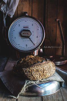 Rye and wheat bread with oats -Pan de centeno y trigo con avena - Bake-Street.com