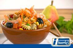 #Receta de #Pasta Oriental, sencilla  y rápida de hacer http://on.fb.me/1LQB4z1 #RecetasDeLaHuerta