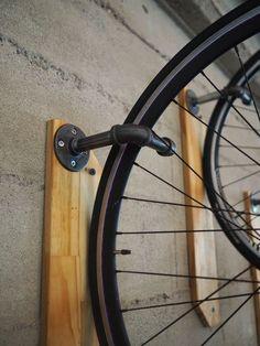 metal pipe bike hangers
