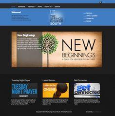 The Springs Church South Website - #uzumedia