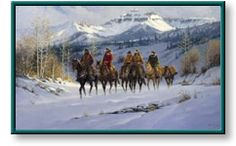 Harvey Art--Cimarron by G. Harvey, a G. Harvey limited edition available from J Watson Fine Art 661 your source for G. Cowgirl And Horse, Cowboy Art, Cowboy History, Winter Painting, Western Art, Western Quotes, Western Cowboy, Southwest Art, Poster Prints