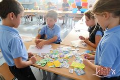 "1º#PrimariaISP repasa el tema de la clase de hoy a través del ""Comeletras"". www.colegiosisp.com"