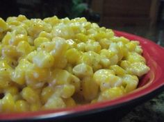 Mama used to make this as soon as the fresh corn came in. It is similar to creamed corn in sweetness but the kernels are left whole. A great summertime dish. When my boys whine enough in the winter I will make this with frozen corn. Frozen Corn Recipes, Canned Corn Recipes, Fresh Corn Recipes, Creamed Corn Recipes, Vegetable Recipes, Veggie Meals, Healthy Dinners, Chicken Recipes