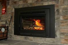 Image result for wood fireplace