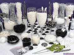 Black & White Candy Buffet | Flickr: Intercambio de fotos