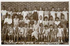 West Kentucky Genealogy: 1935 Calvert City 1st-3rd Grades, Marshall County, Kentucky