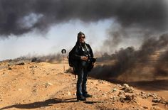 """I can't imagine not dedicating my life to trying to stop those things from happening,"" says photojournalist Lynsey Addario"