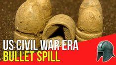US Civil War era bullet spill - Metal Detecting for Treasure