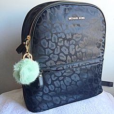 """NEW MINT RABBIT FUR PLUSH POM POM SOFT KEYCHAIN NEW! So soft! Color: Mint. With gold hardware and dangly Pearl. Lobster claw closure and key ring. 5"""" long.NO TRADES OR QUESTION COMMENTS FROM NON SERIOUS BUYERSDO NOT BUNDLE UNLESS YOU INTEND TO BUYDO NOT LOWBALL & NO PRICE COMMENTSPRICE IS REFLECTED ON PM FEES AND HOW MUCH I PAID Boutique Accessories Key & Card Holders"""