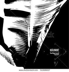 Elegant poster with banana leaves. Vector illustration EPS 10.