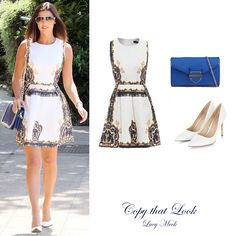Copy that Look: Lucy Mecklenburgh Skater Dress, Fashion Accessories, That Look, Sunday Funday, Lifestyle, Formal Dresses, Dresses For Formal, Formal Gowns, Formal Dress