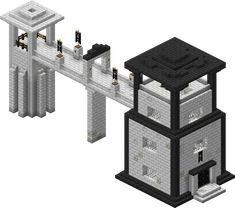Minecraft Prison Tower - Minecraft World Casa Medieval Minecraft, Minecraft House Plans, Minecraft Building Guide, Easy Minecraft Houses, Minecraft Castle, Minecraft Room, Minecraft Decorations, Minecraft House Designs, Minecraft Blueprints
