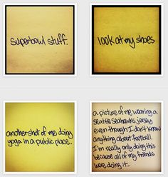 Instagram feeds to make you happy: Satiregram parodies cliches on Post-It notes