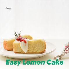 Want an easy and delicious lemon cake recipe? Yeah me too! That's why I'm so glad I found this! It is a very easy and quick recipe with a fresh lemon aroma and a slightly sour flavor. Quick Recipes, Cake Recipes, Cake Mixture, No Bake Cake, Afternoon Tea, Vegetarian Recipes, Lemon, Snacks, Fresh
