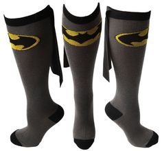 DC Comics Batman Knee High Cape Socks