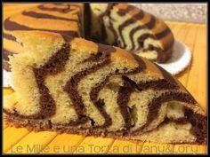 Condividi la ricetta...TORTA ZEBRATA ALLA RICOTTA In passato avevo già preparato la torta zebrata, ma oggi ho voluto sperimentare la mia versione alla ricotta! Davvero speciale: soffice, profumata e con un delicato sapore di cacao…