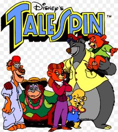 Tailspin cartoon