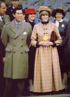 "November 25, 1982: Prince Charles and Princess Diana visited Barmouth in West Wales, for the naming of the new lifeboat ""R.N.L.B. Princess of Wales"""