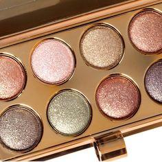 8 Color Pigmented Warm Glitter Eyeshadow Palette Luxury Makeup