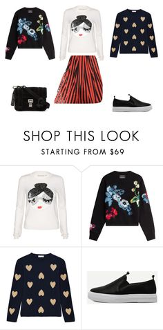 """Вопрос стилисту_3.3"" by christinamaker on Polyvore featuring мода, Alice + Olivia, Anthony Vaccarello, Chinti and Parker и Proenza Schouler"
