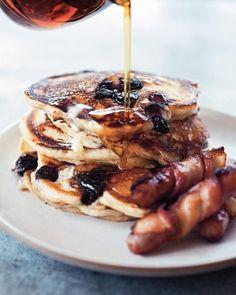 Blueberry Buttermilk Pancakes, #Blueberry, #Buttermilk, #Pancakes