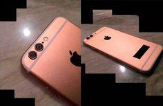 Aparte de las dos cámaras que podemos apreciar en las imágenes de este posible iPhone 6S, el dispositivo también tiene en un color algo diferente a las usadas anteriormente como es Oro Rosa