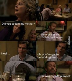 I think it's hilarious when House sedates people! Gregory House, Tv Quotes, Movie Quotes, Funny Quotes, Funny Memes, House Md Funny, House And Wilson, House Md Quotes, Sean Leonard