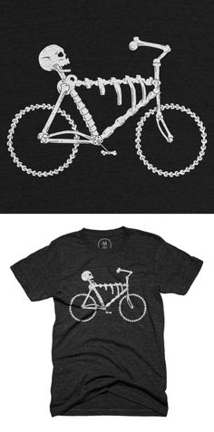 Bonecycle t-shirt design up on Cotton Bureau. #skull