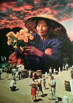 The Florist, Raul Ruzzene, Paper Collage, 2013