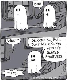 Dont act like you werent scared sheetless funny funny quotes halloween ghost halloween pictures happy halloween halloween images halloween ideas boo halloween humor funny halloween pictures funny halloween quotes Halloween Meme, Halloween Cartoons, Happy Halloween, Halloween Quotes, Halloween Pictures, Halloween Ghosts, Halloween Ideas, Halloween Stuff, Halloween Decorations