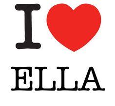 I Heart Ella #love #heart