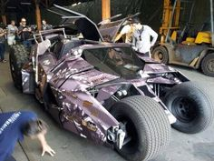 Every #Gumball3000 car looks normal compared to this... 'Batman Tumbler' photo via @GT spirit