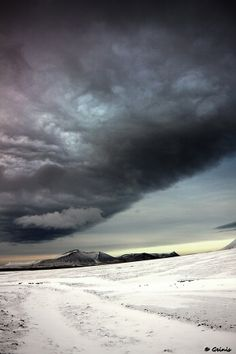 A Storm in Iceland