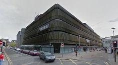 John Lewis Store Building - 1966-70 by Covell Matthews Architects - #architecture #googlestreetview #googlemaps #googlestreet #uk #aberdeen #brutalism #modernism