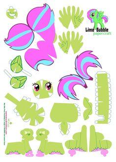 my little pony papercraft - Google Search